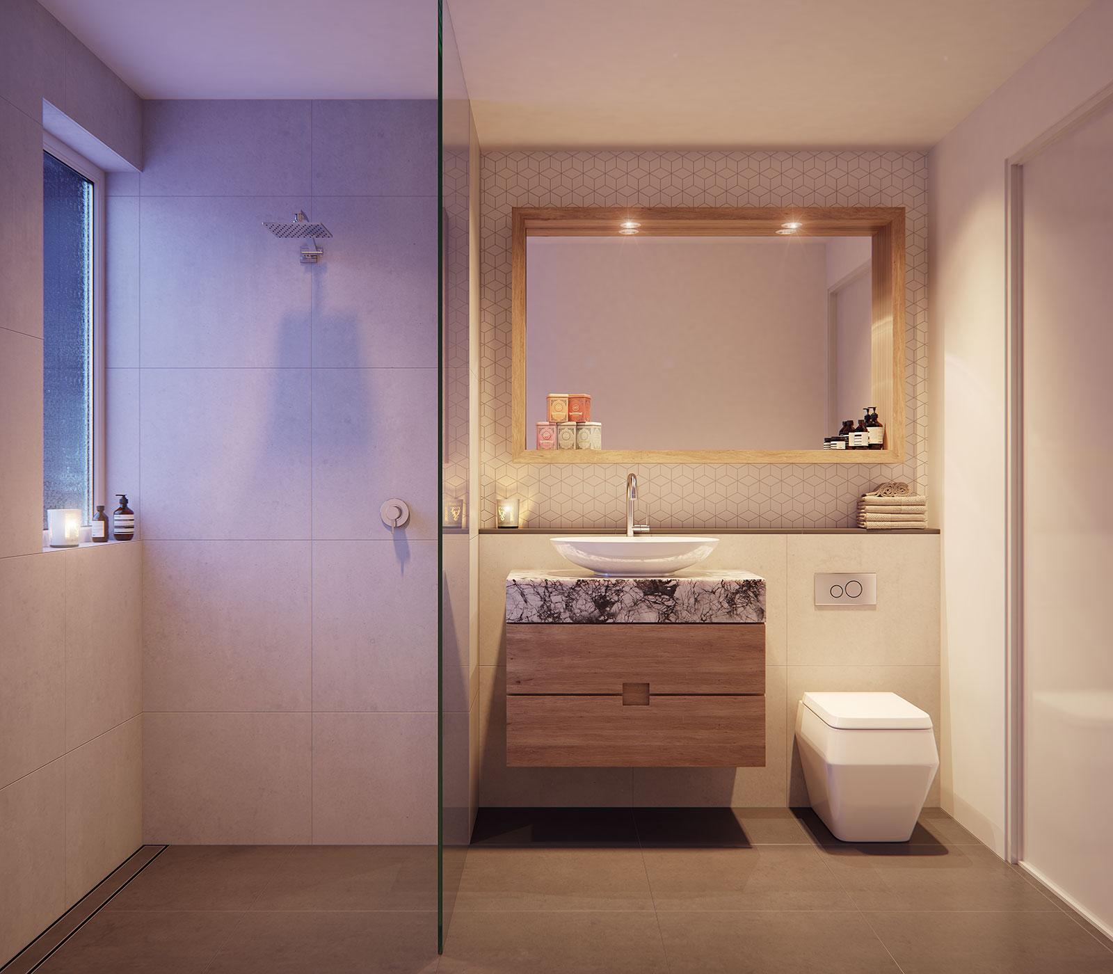 ScreenAge 3D Rendering Bathroom