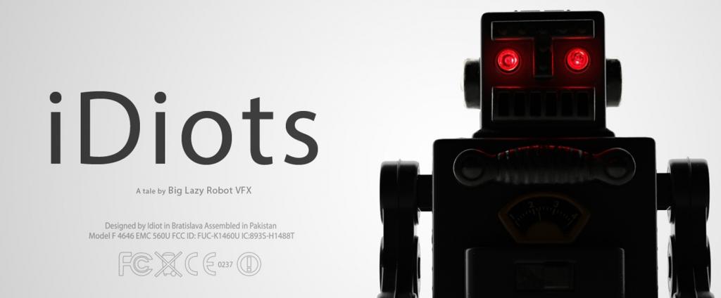IDIOTS. A short CGI film by Big Lazy Robot.
