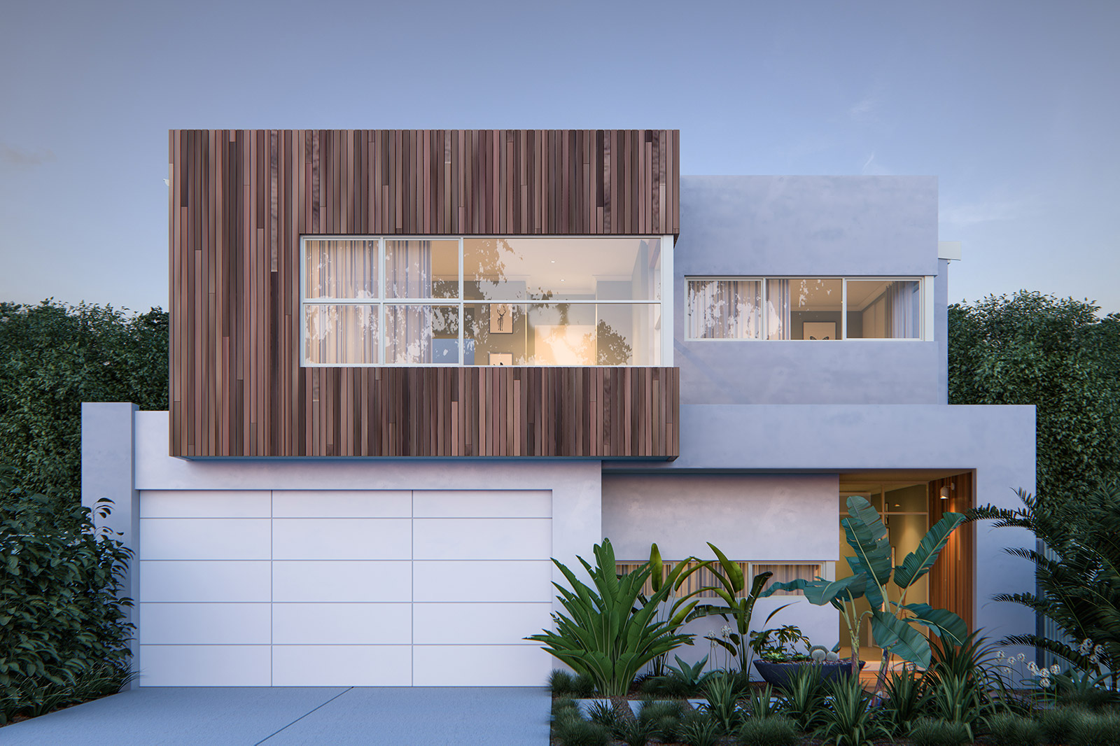 ScreenAge 3d rendering house perth front