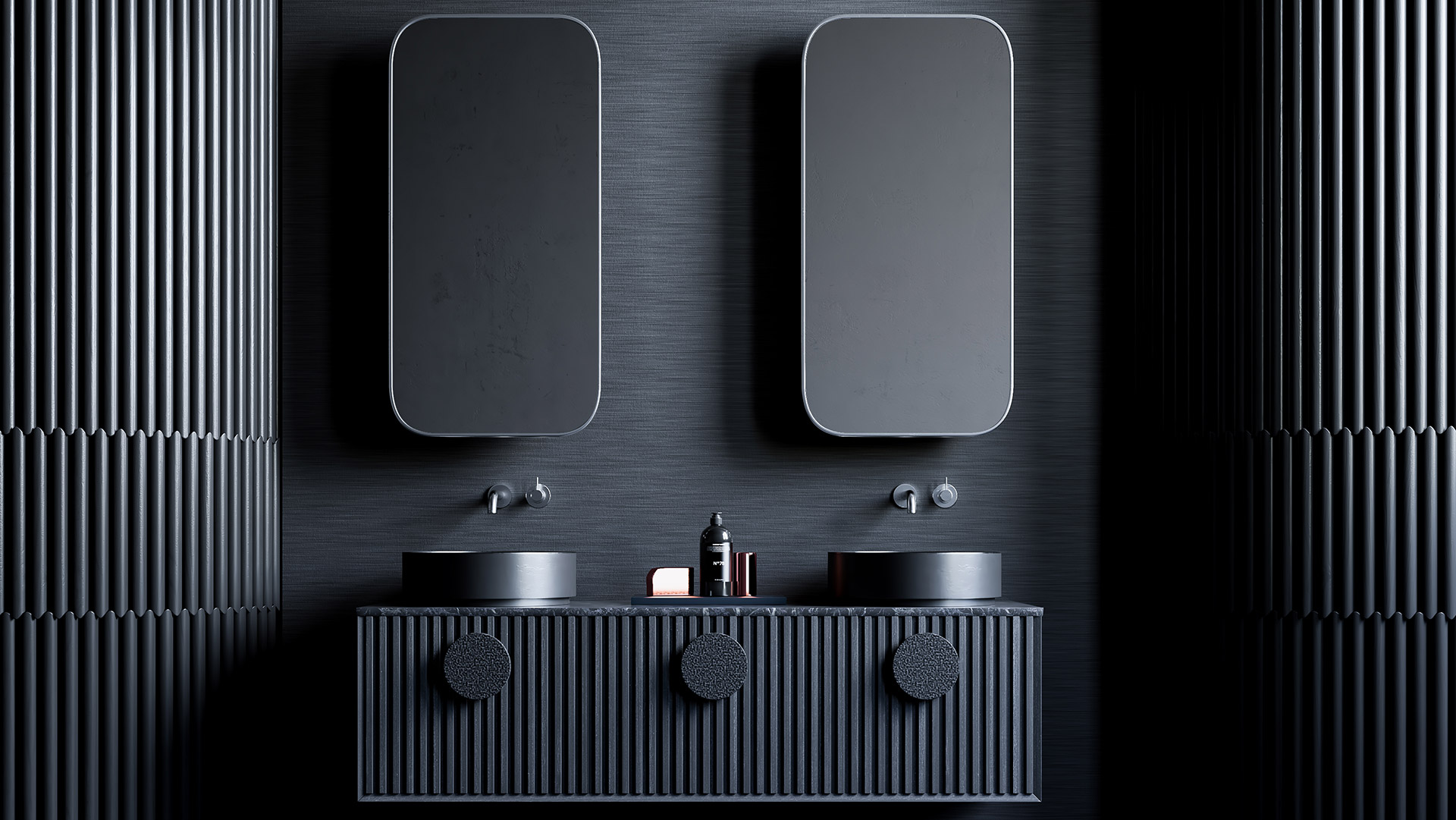 3D Visualisation of a bathroom created by ScreenAge Visualisation Studio